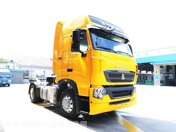 中国重汽 HOWO T7H重卡 480章鱼直播 4X2牵引车(快递车)(ZZ4187N361HD1B)