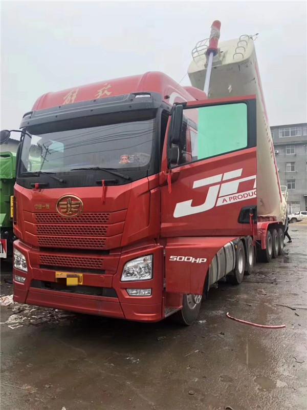 解放JH6,500章鱼直播,新款罐式后翻,整车15吨,